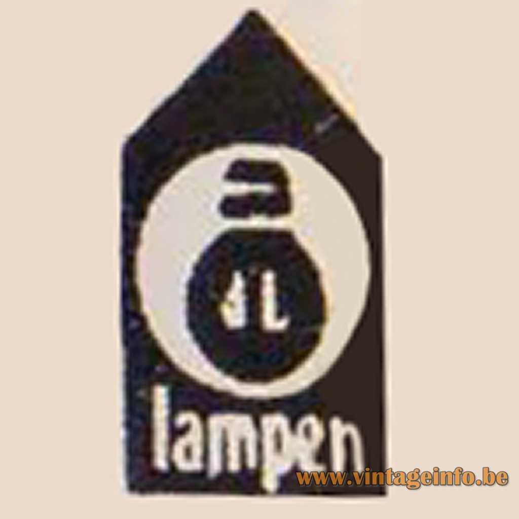 JL LAMPEN label logo