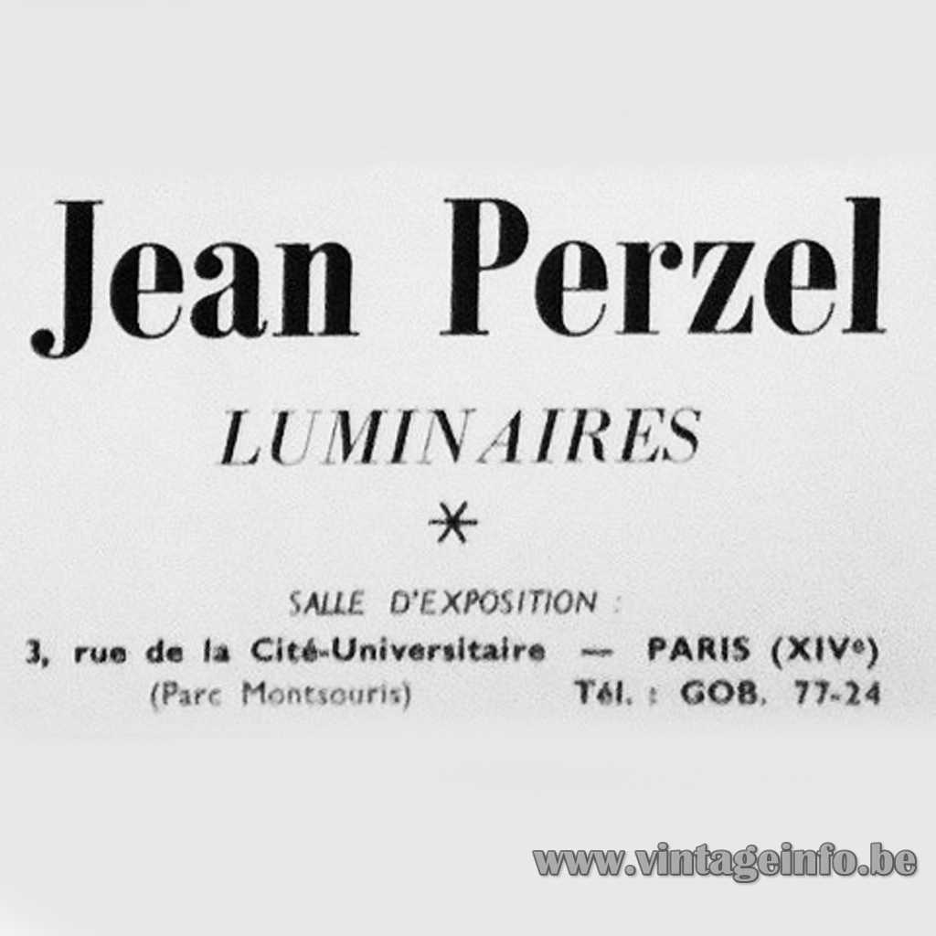 Jean Perzel Luminaires logo