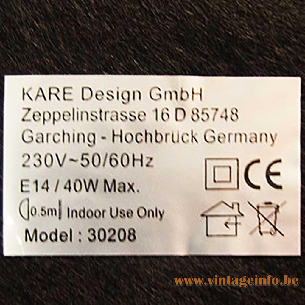 KARE Design label