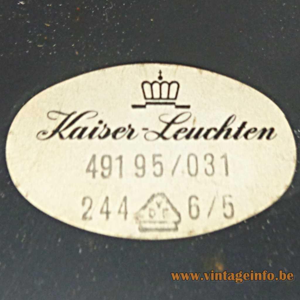 Kaiser Leuchten label