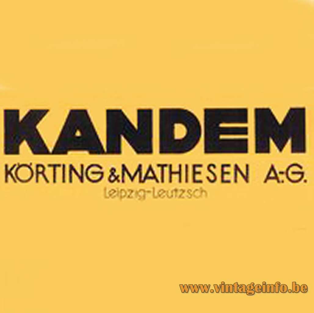 Kandem - Körting & Mathiesen AG Leipzich logo