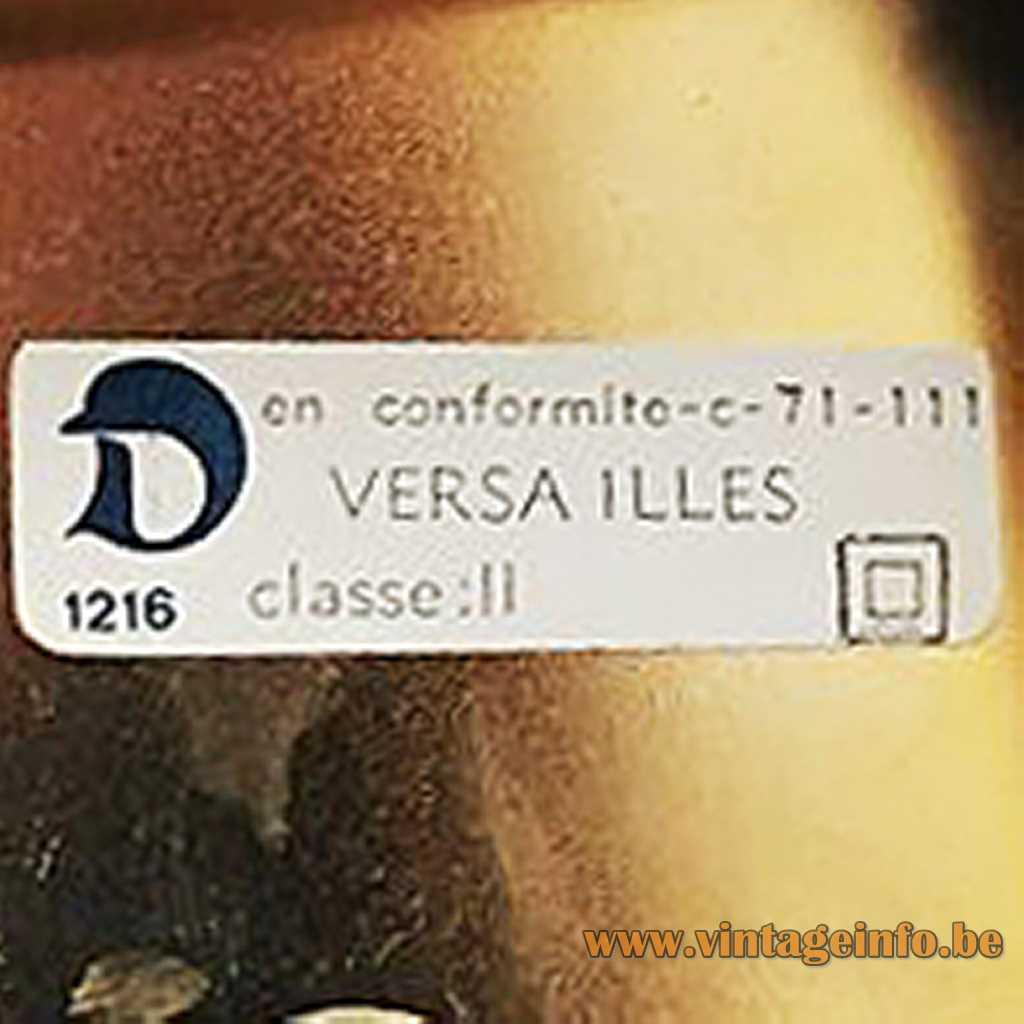 Le Dauphin Versailles label