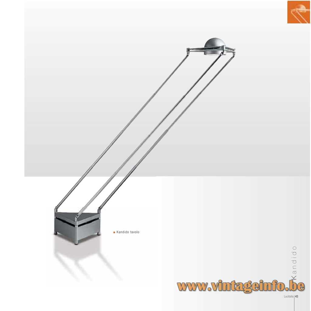 Lucitalia Kandido Flush Mount & Table Lamp , Catalogue Pictures