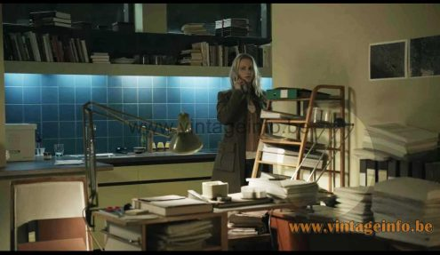 Lucitalia Kandido table lamp used as a prop in the 2011 TV series The Bridge