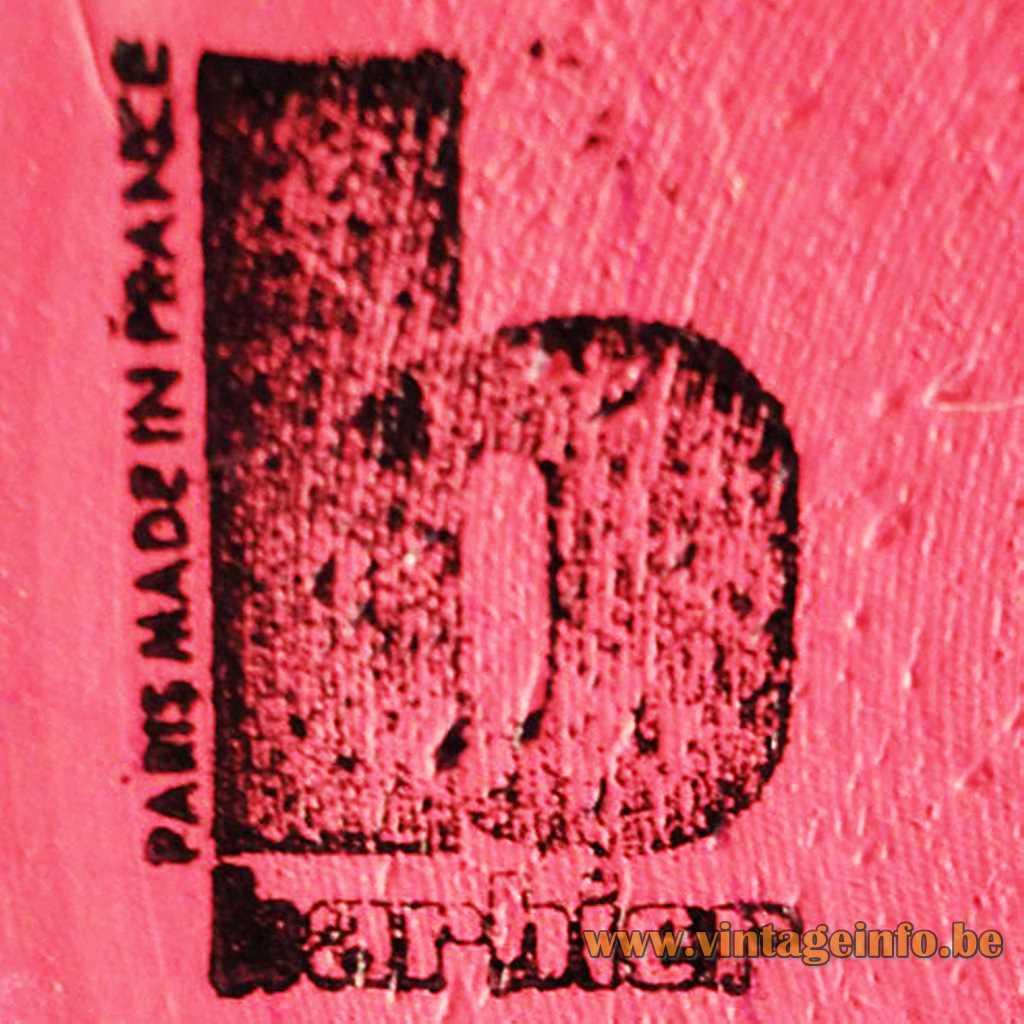 Maison Barbier stamped logo