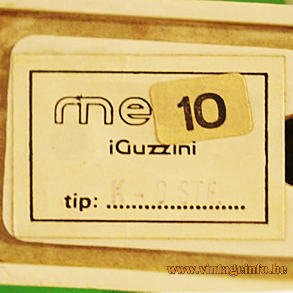 Meblo iGuzzini label