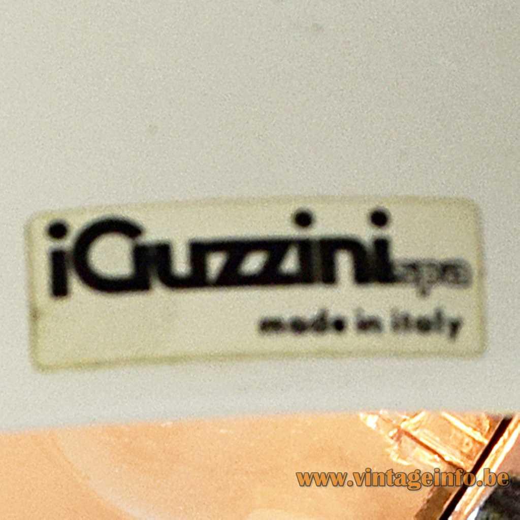 iGuzzini label