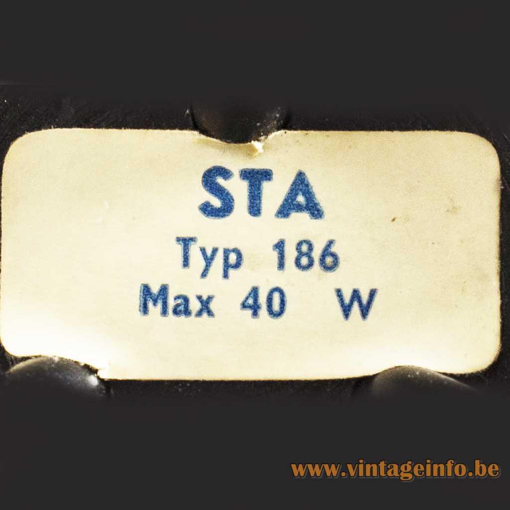 STA - AB Stilarmatur Tranås label