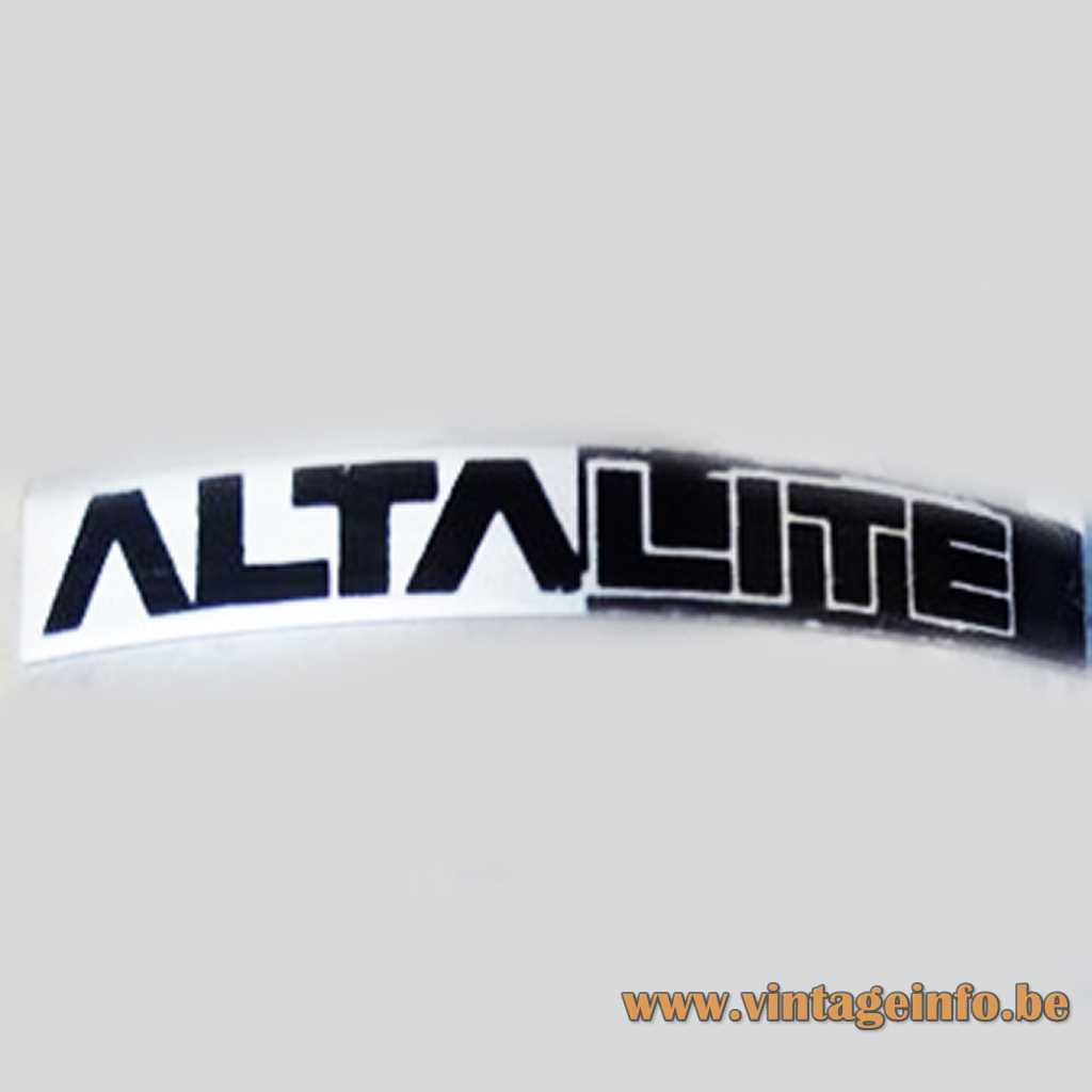 ALTA LITE label