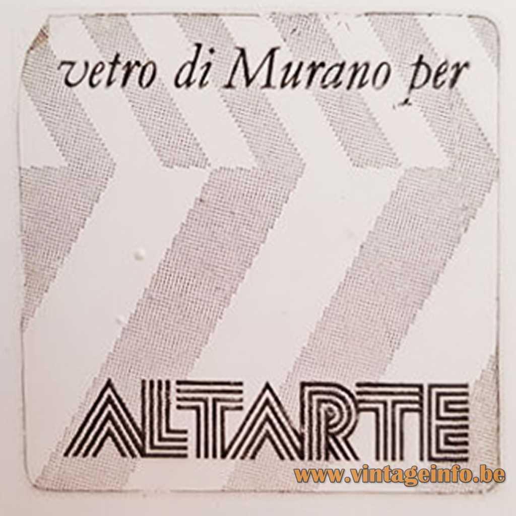 Altarte Murano Logo