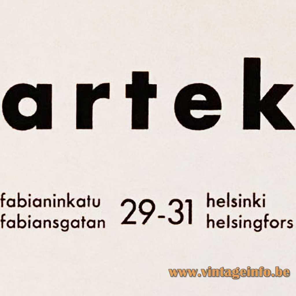 Artek logo 1939