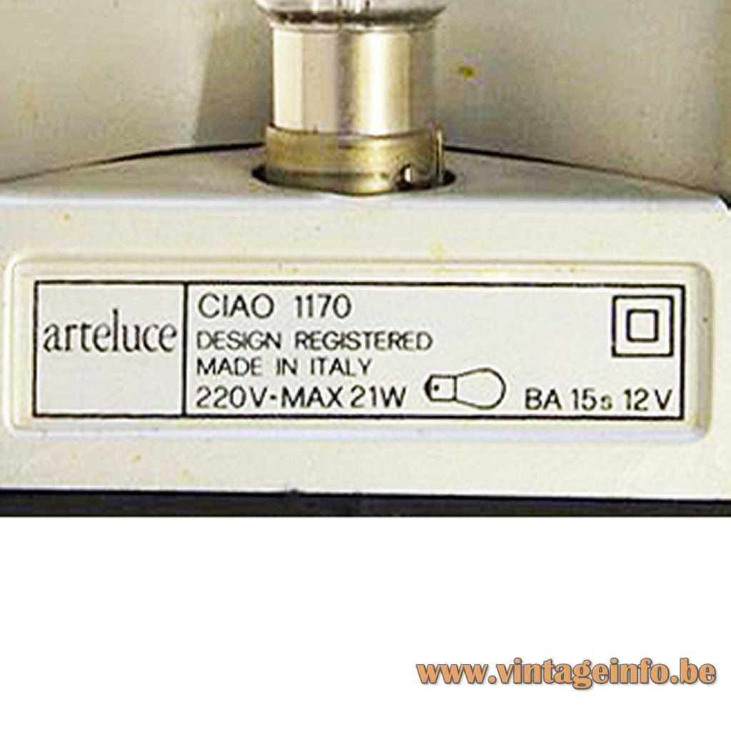 Arteluce label