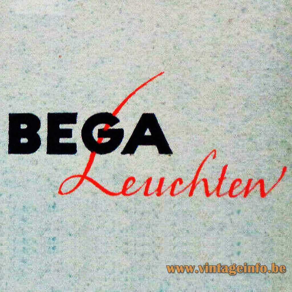 Bega Leuchten logo 1950s
