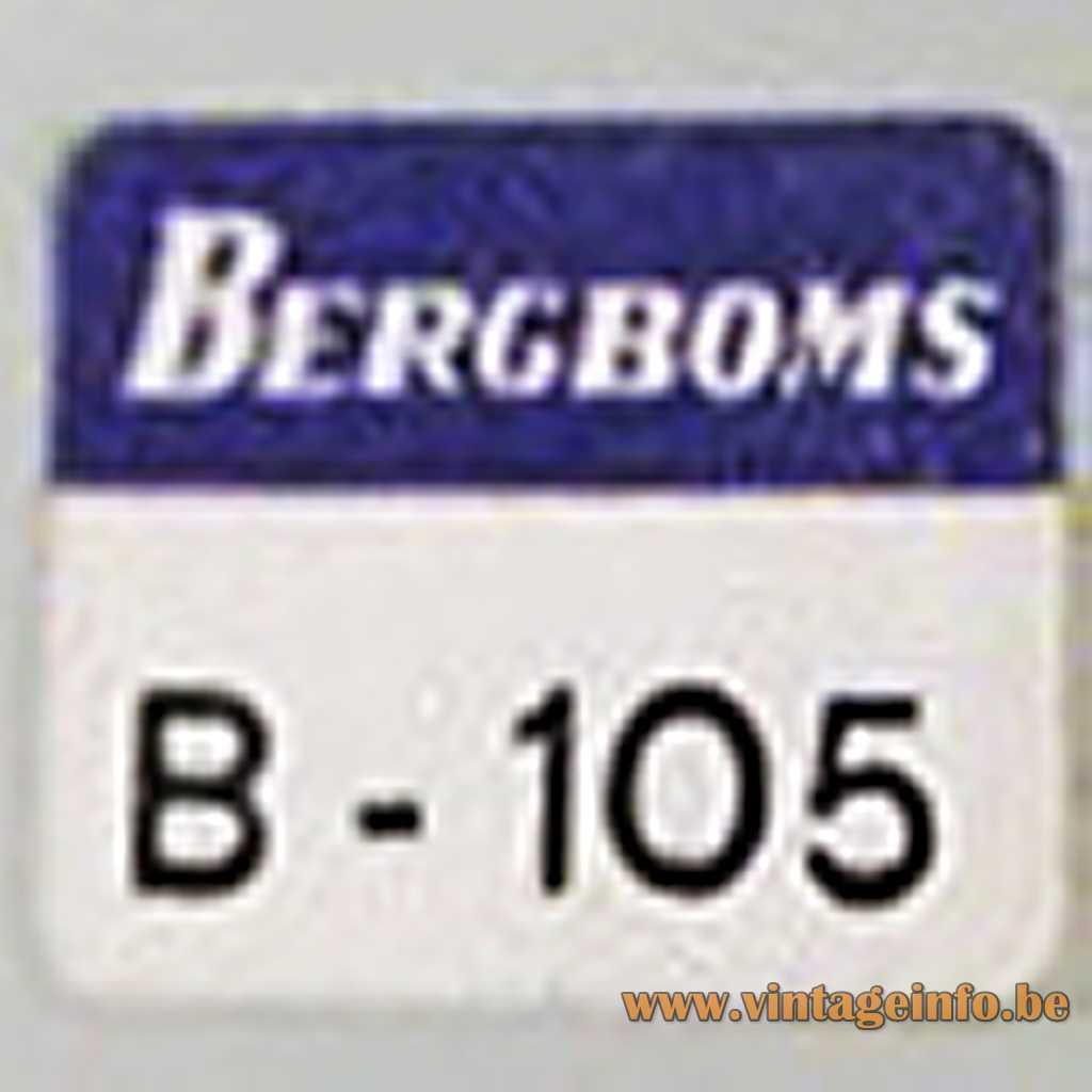 Bergboms label
