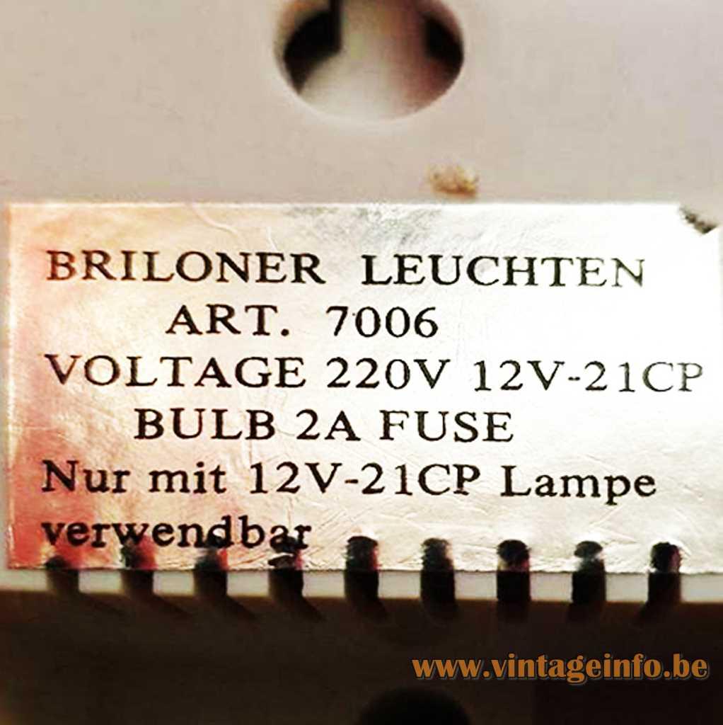 Briloner Leuchten label