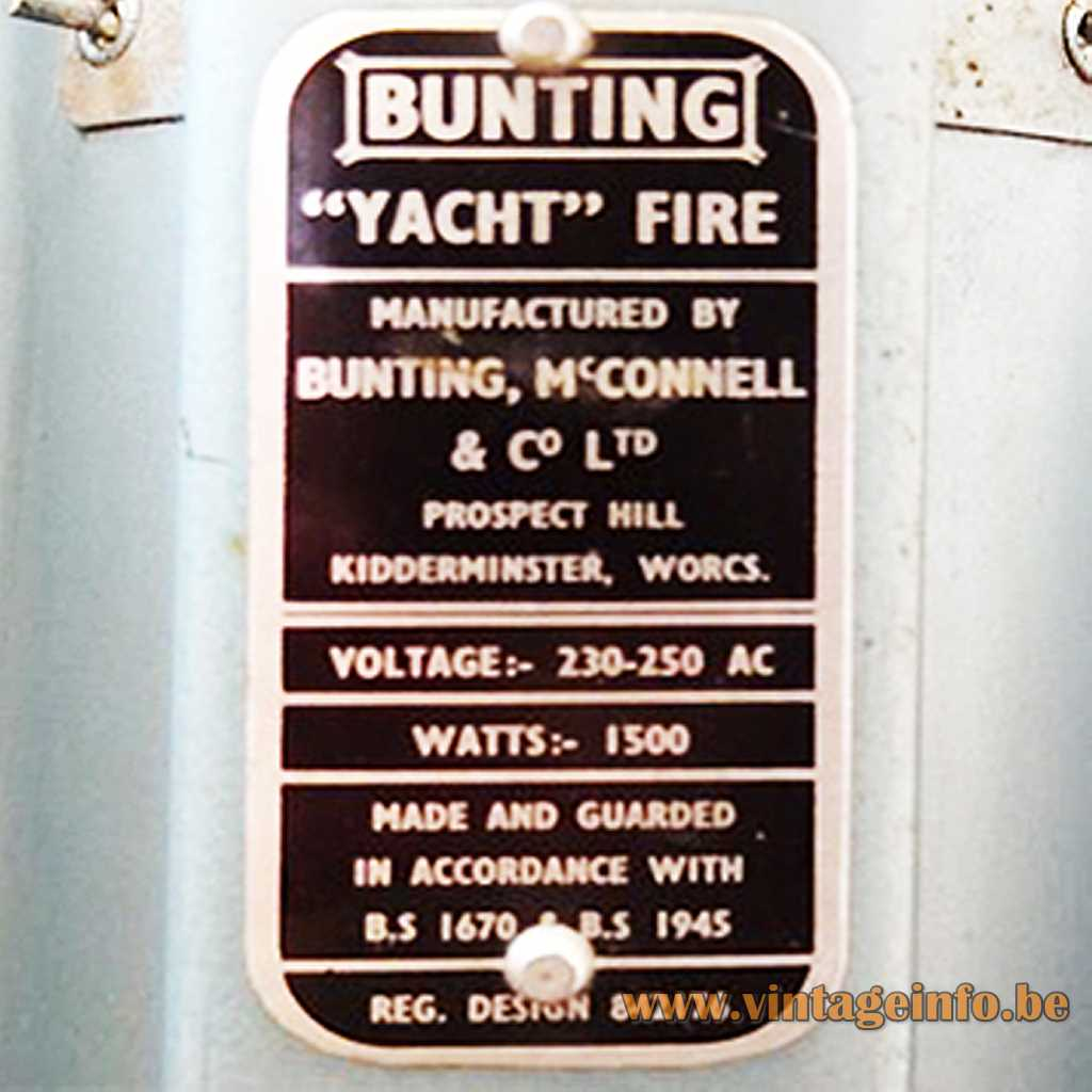 Bunting McConnell Co. Ltd label