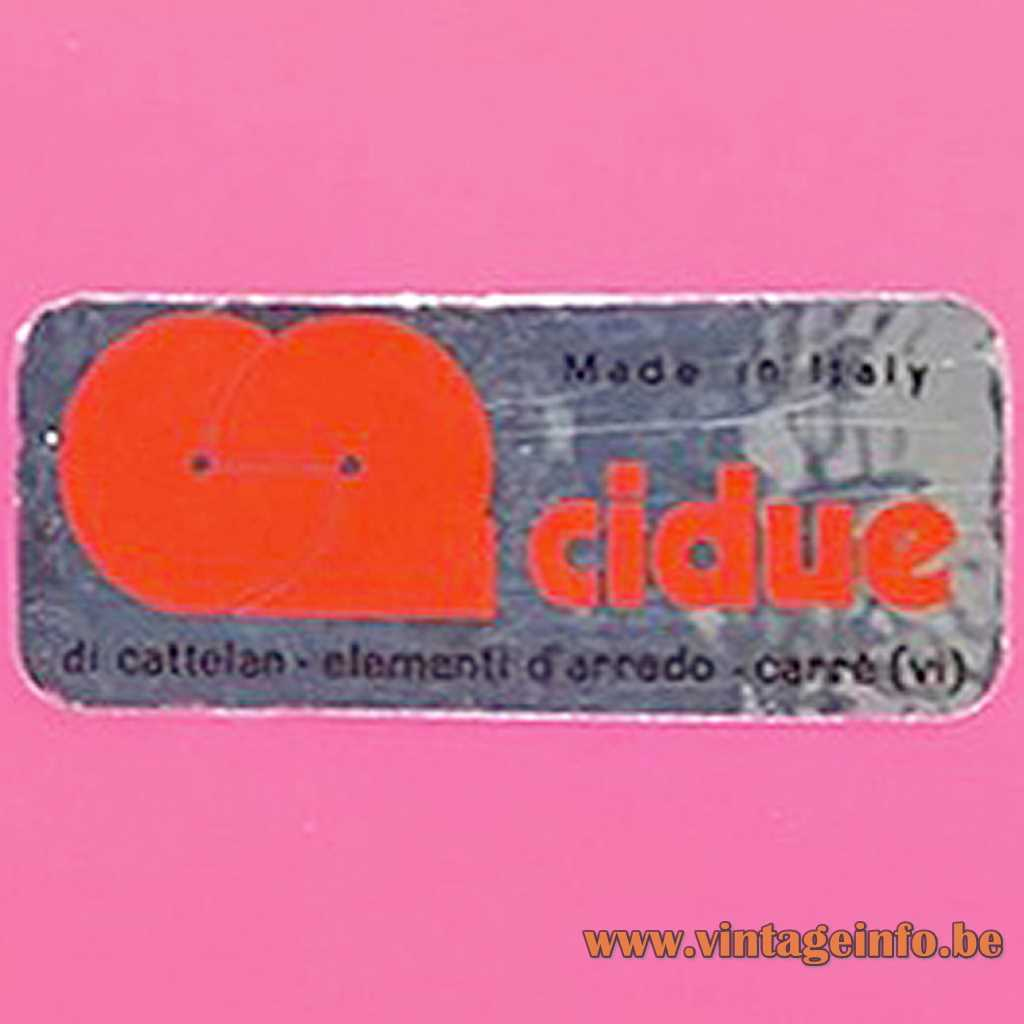 Cidue label