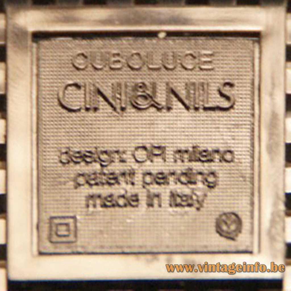 Cini&Nils pressed logo label