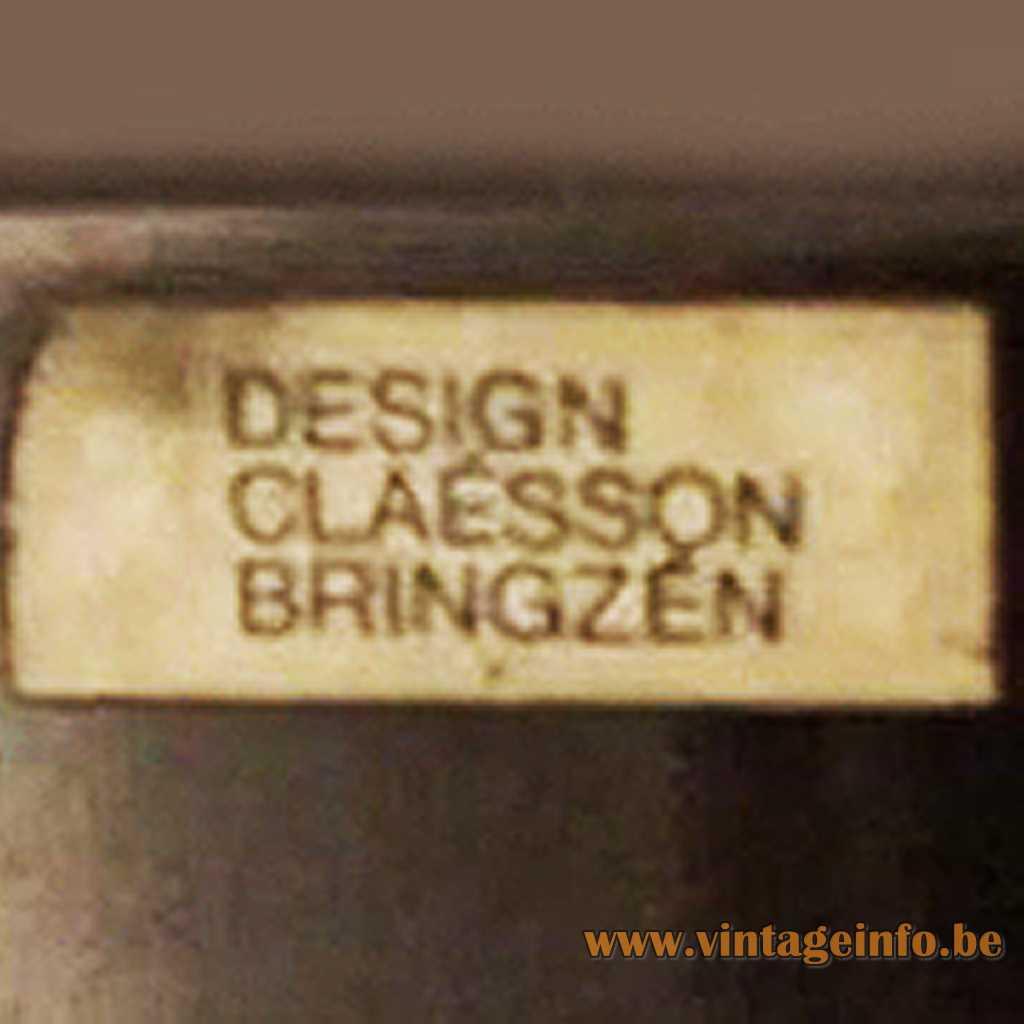 Claèsson Bringzèn label