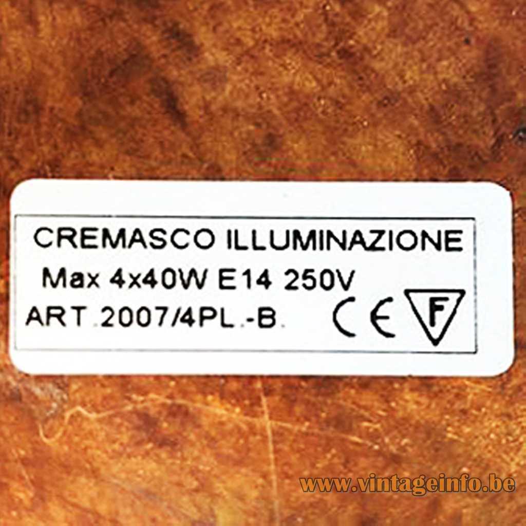 Cremasco Illuminazione label