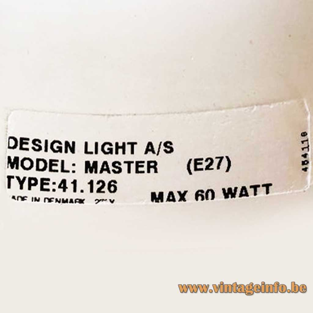 Design Light A/S label