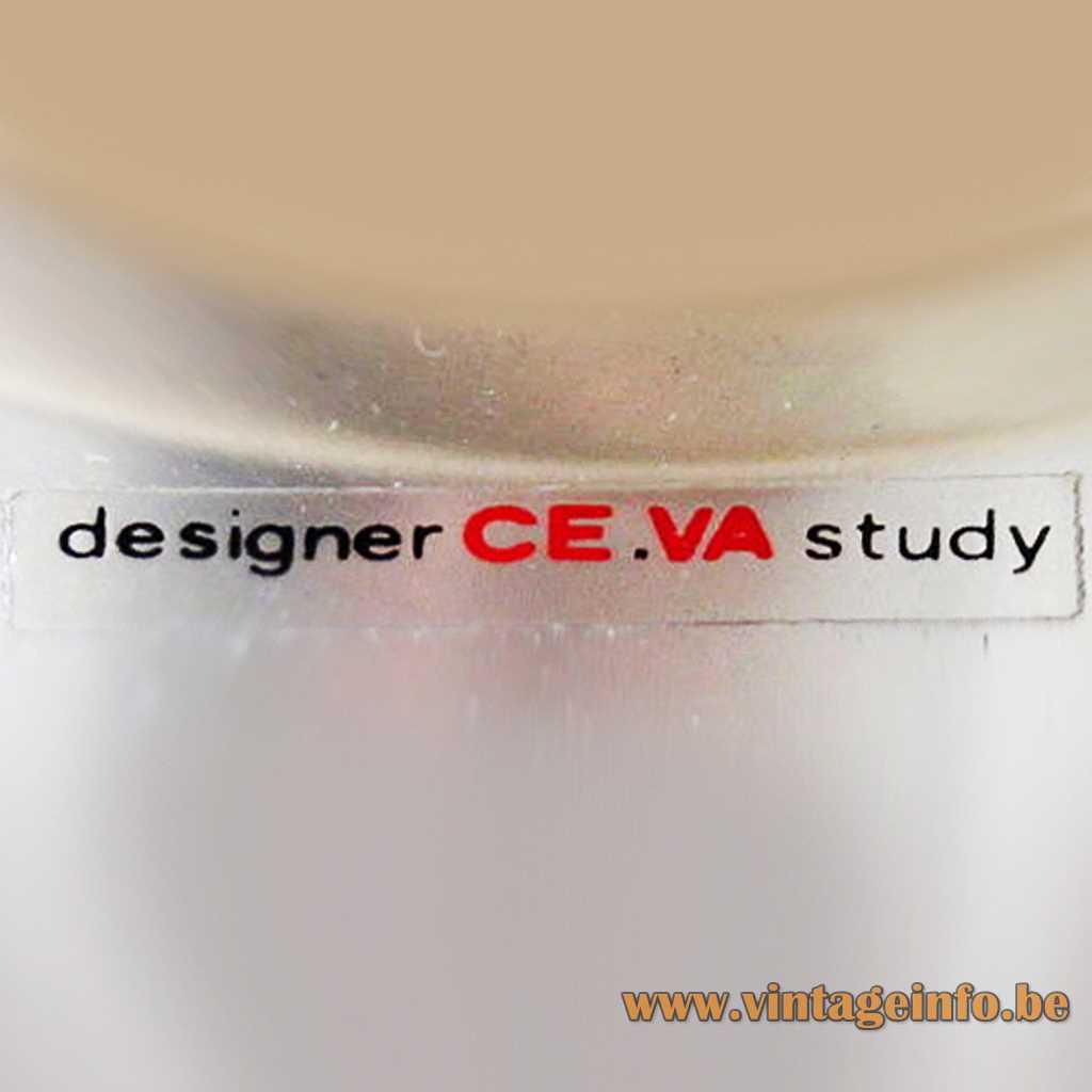 Designer CE.VA Study label