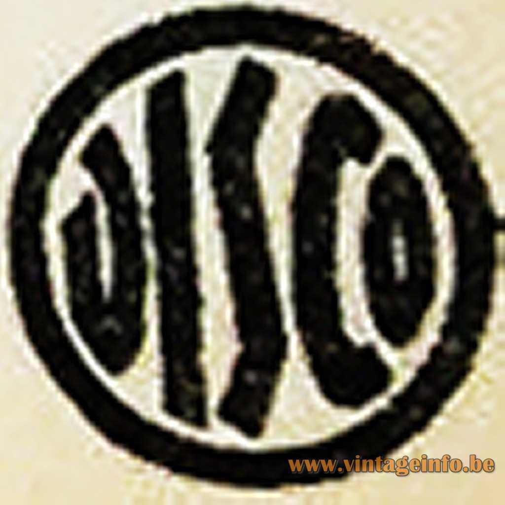 Disco logo 1950s