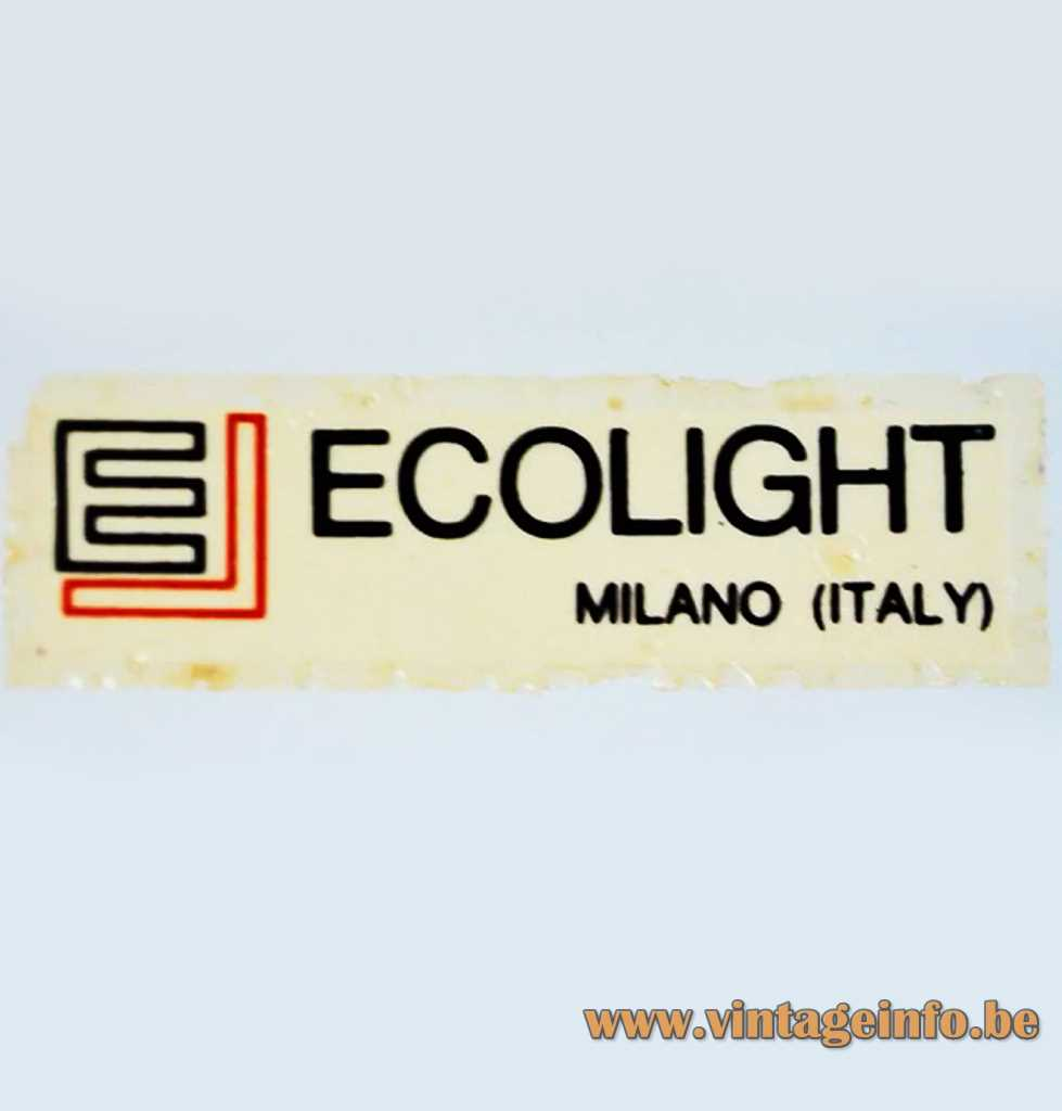 Ecolight label