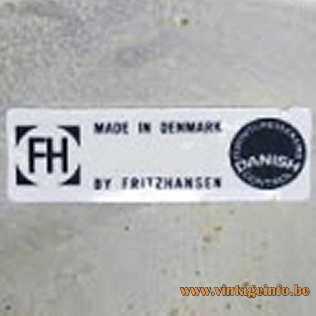 FH - Fritz Hansen label