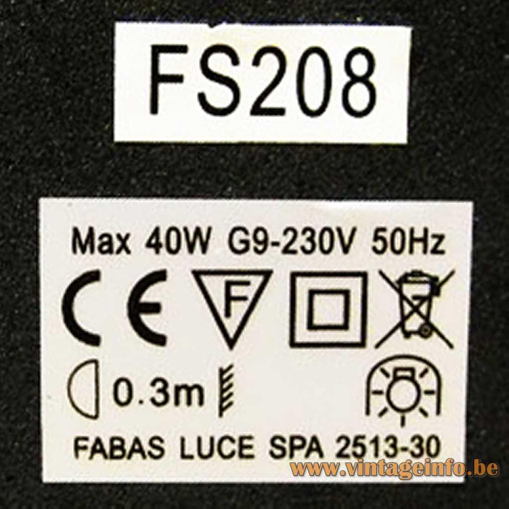 Fabas Luce label