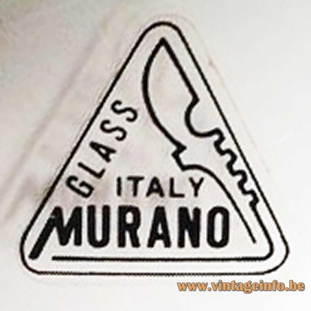 Ferro e Lazzarini Murano label