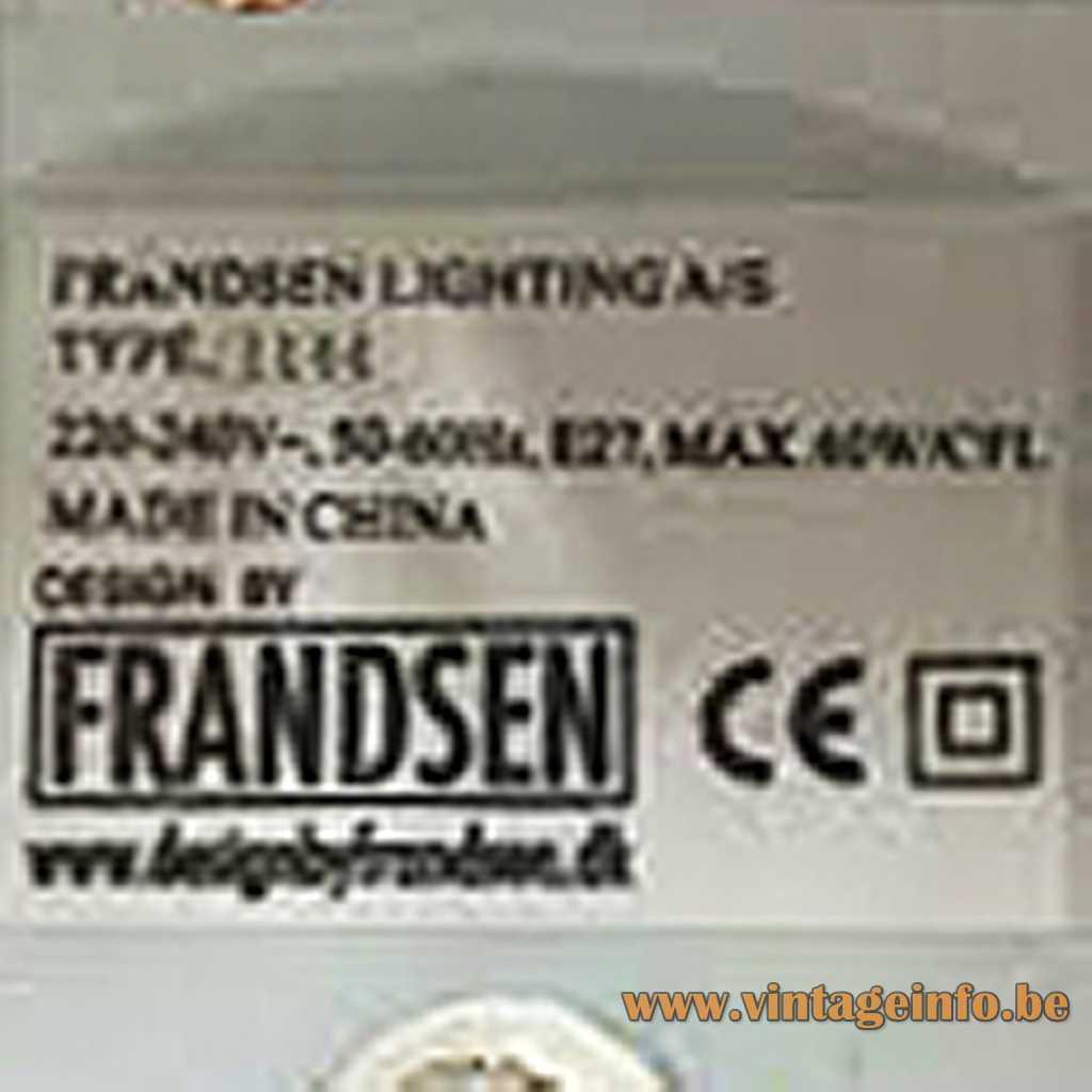 Frandsen label