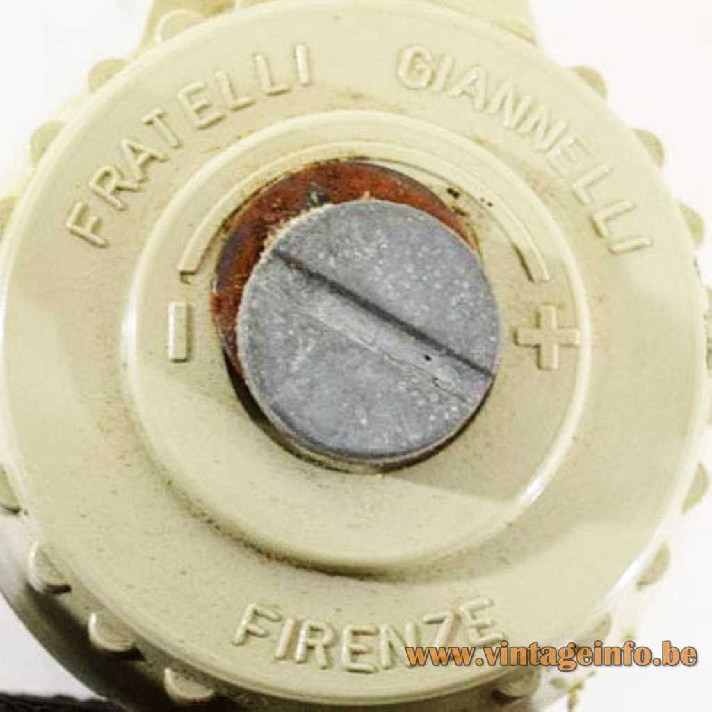Fratelli Giannelli Firenze pressed logo