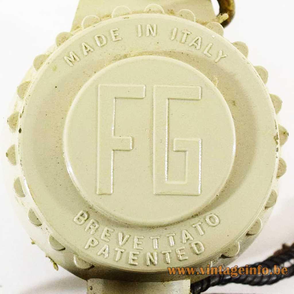 FG - Fratelli Giannelli pressed logo