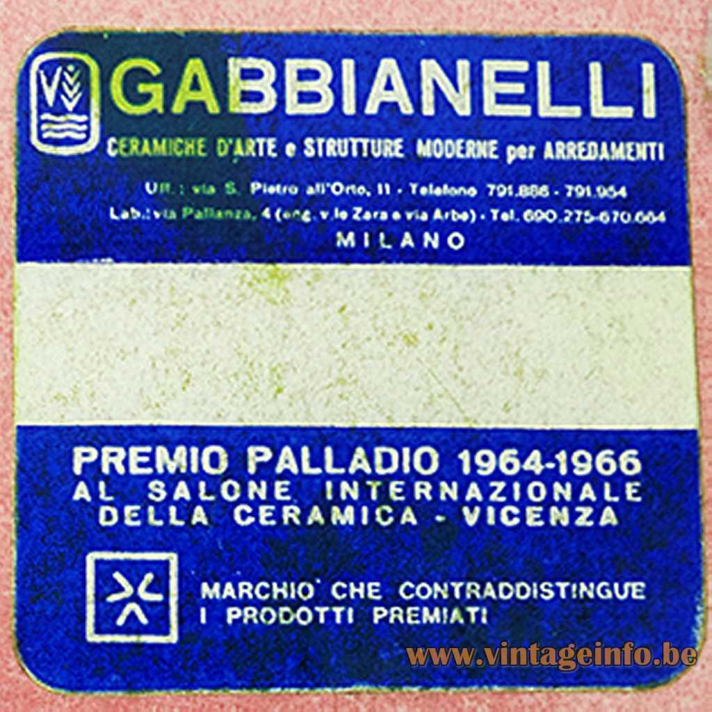 Gabbianelli label