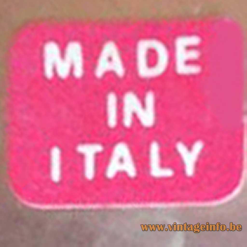 Giulia Mangani label