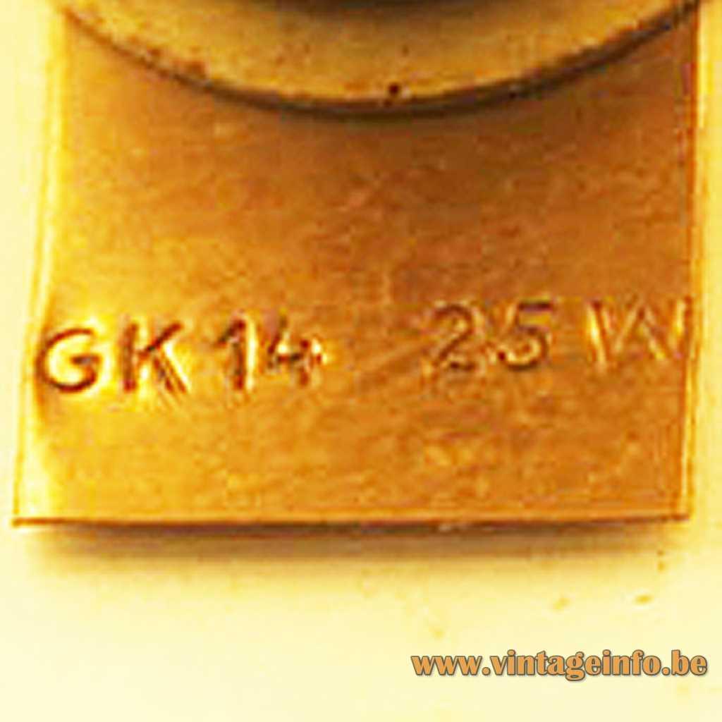 GK - Gnosjö Konstsmide stamp