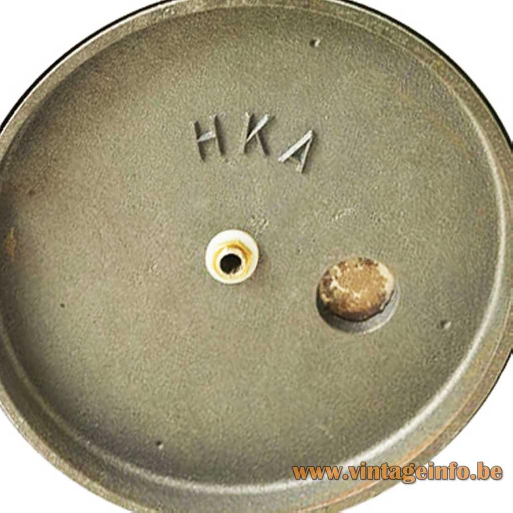 HKA - Helsingin Kaasuvalo cast iron logo