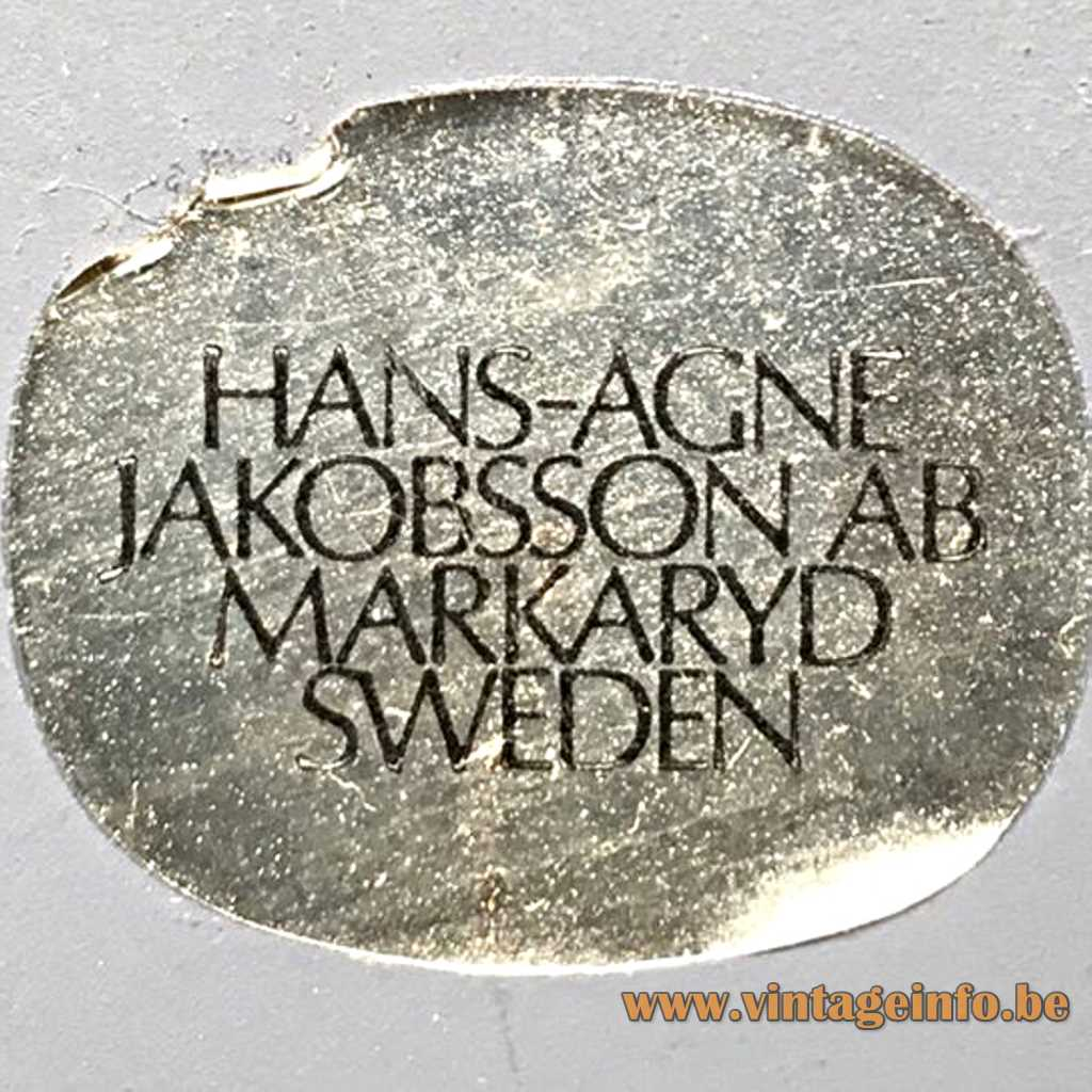 Hans-Agne Jakobsson label