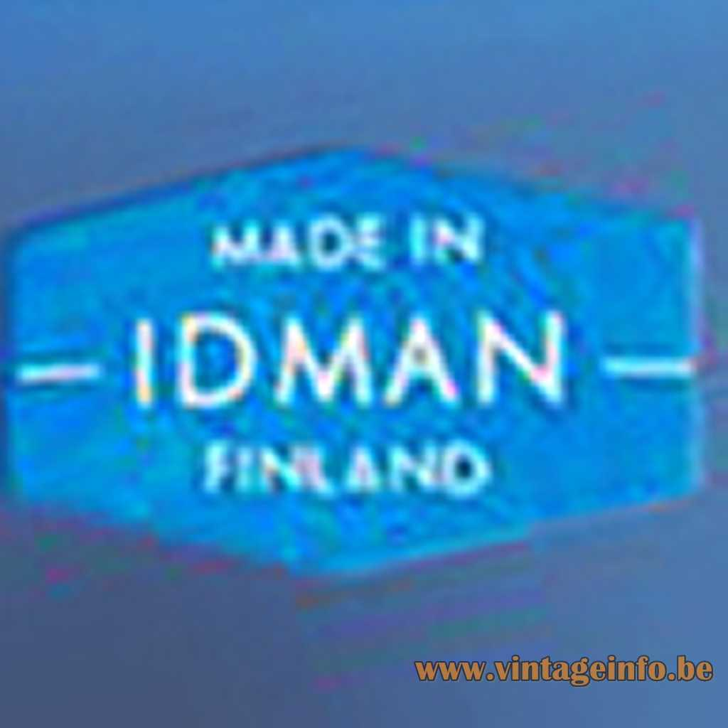 Idman - Made in Finland label