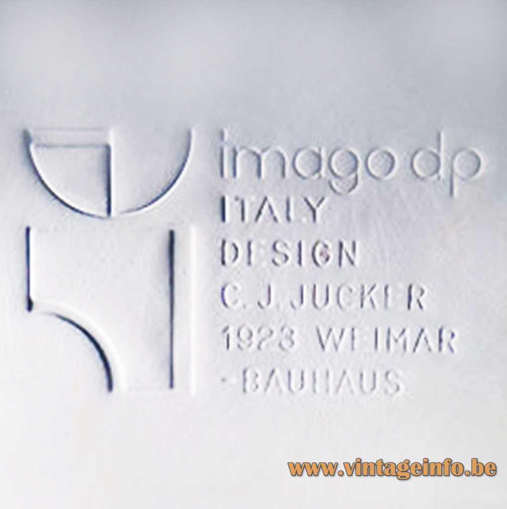 Imago DP pressed label - logo