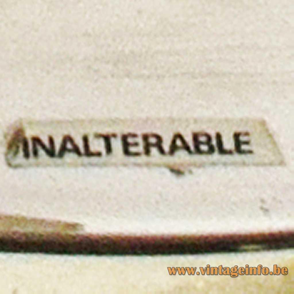 Inalterable label - Vitt Kellj Tabel Lamp