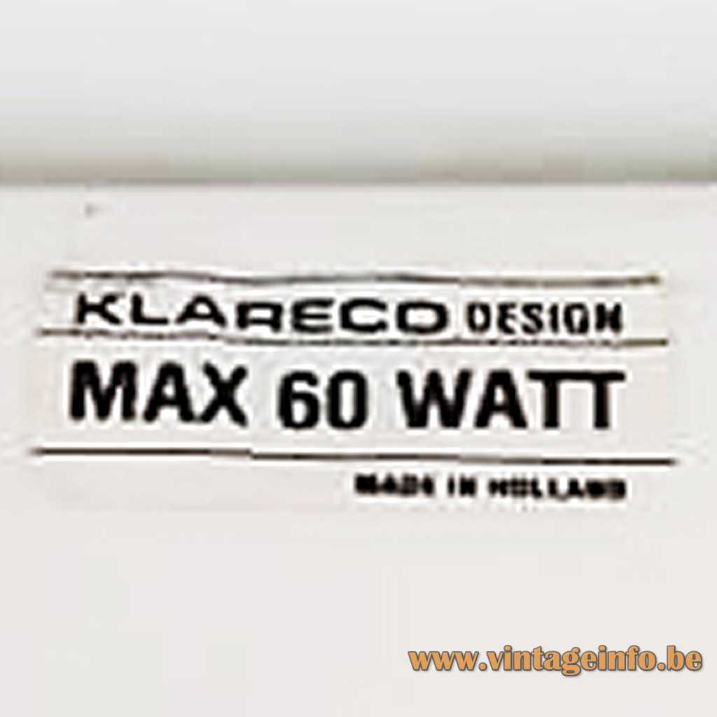 Klareco Design label