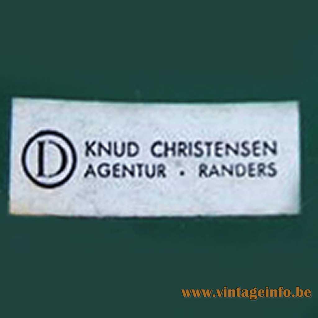 Knud Christensen Agentur Randers label