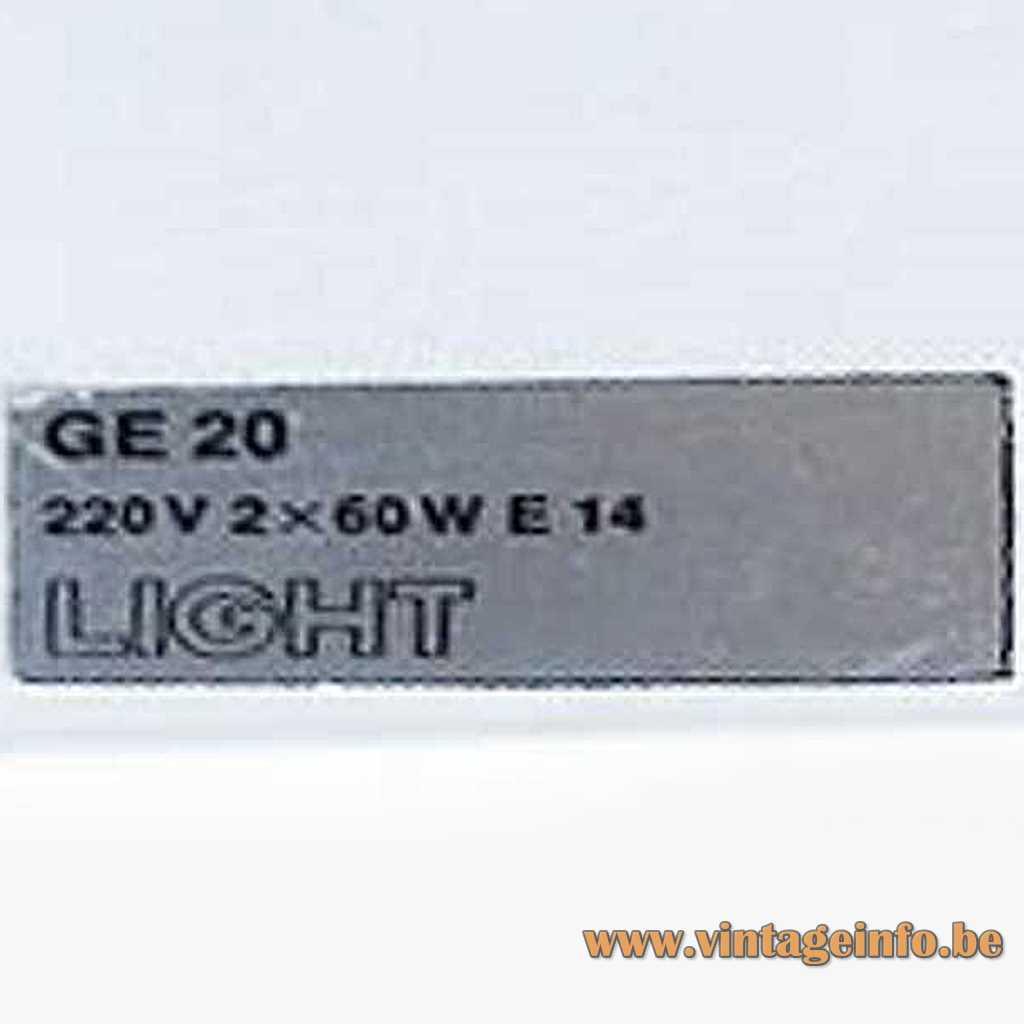 LIGHT label