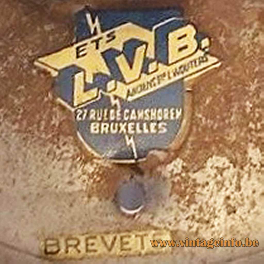 ETS L.V.B. Bruxelles label LVB