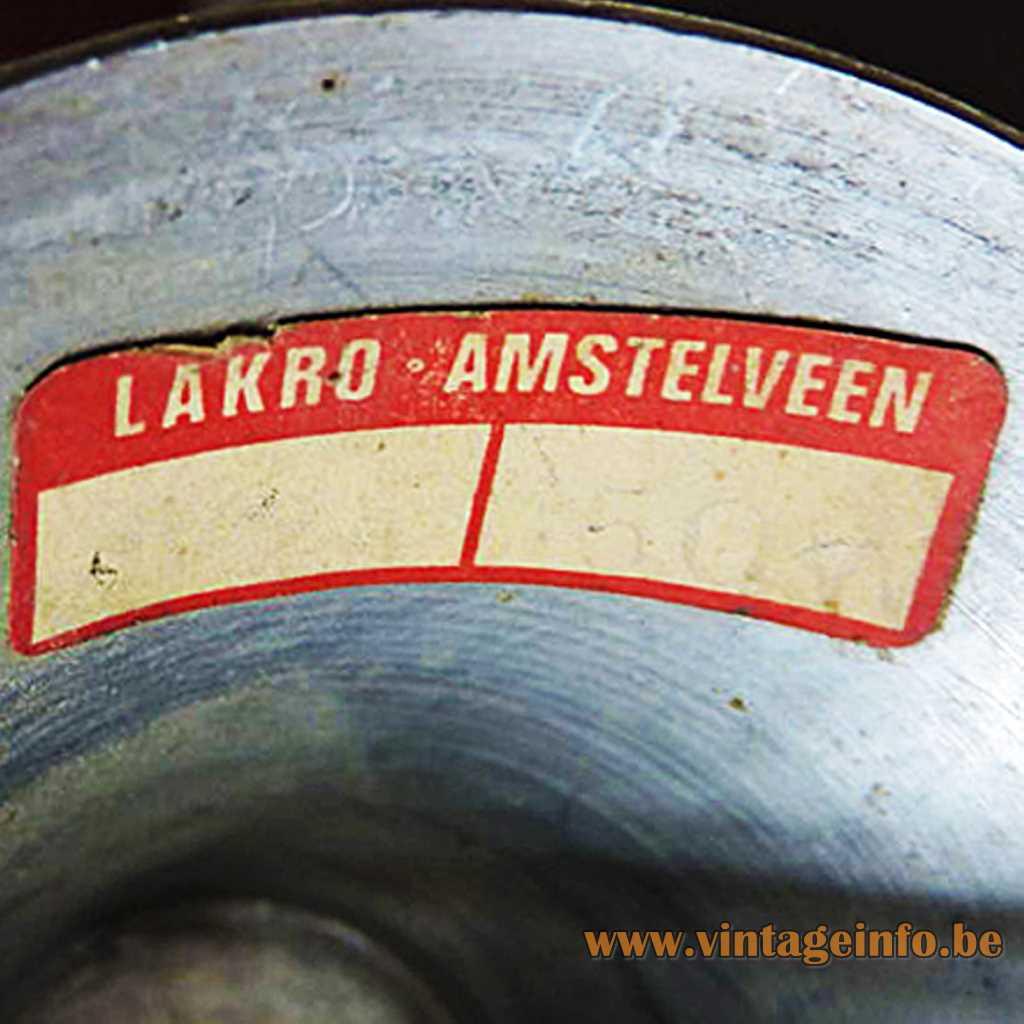 Lakro Amstelveen label