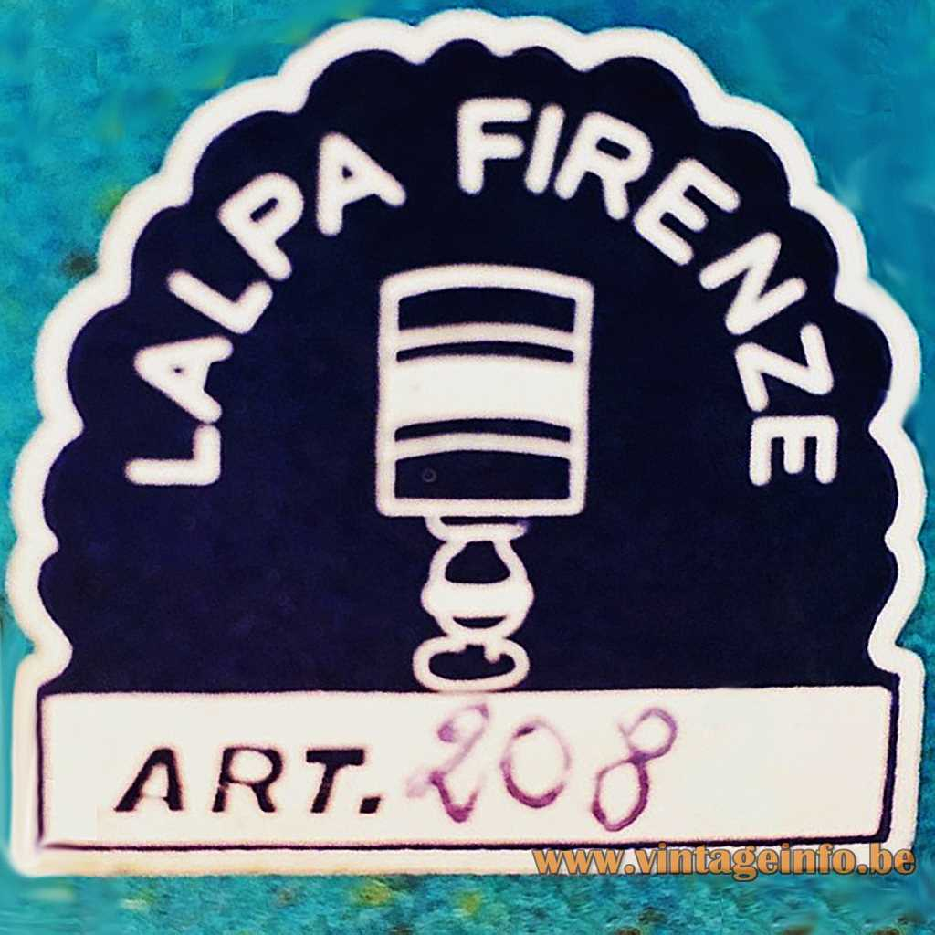 Lalpa Firenze label
