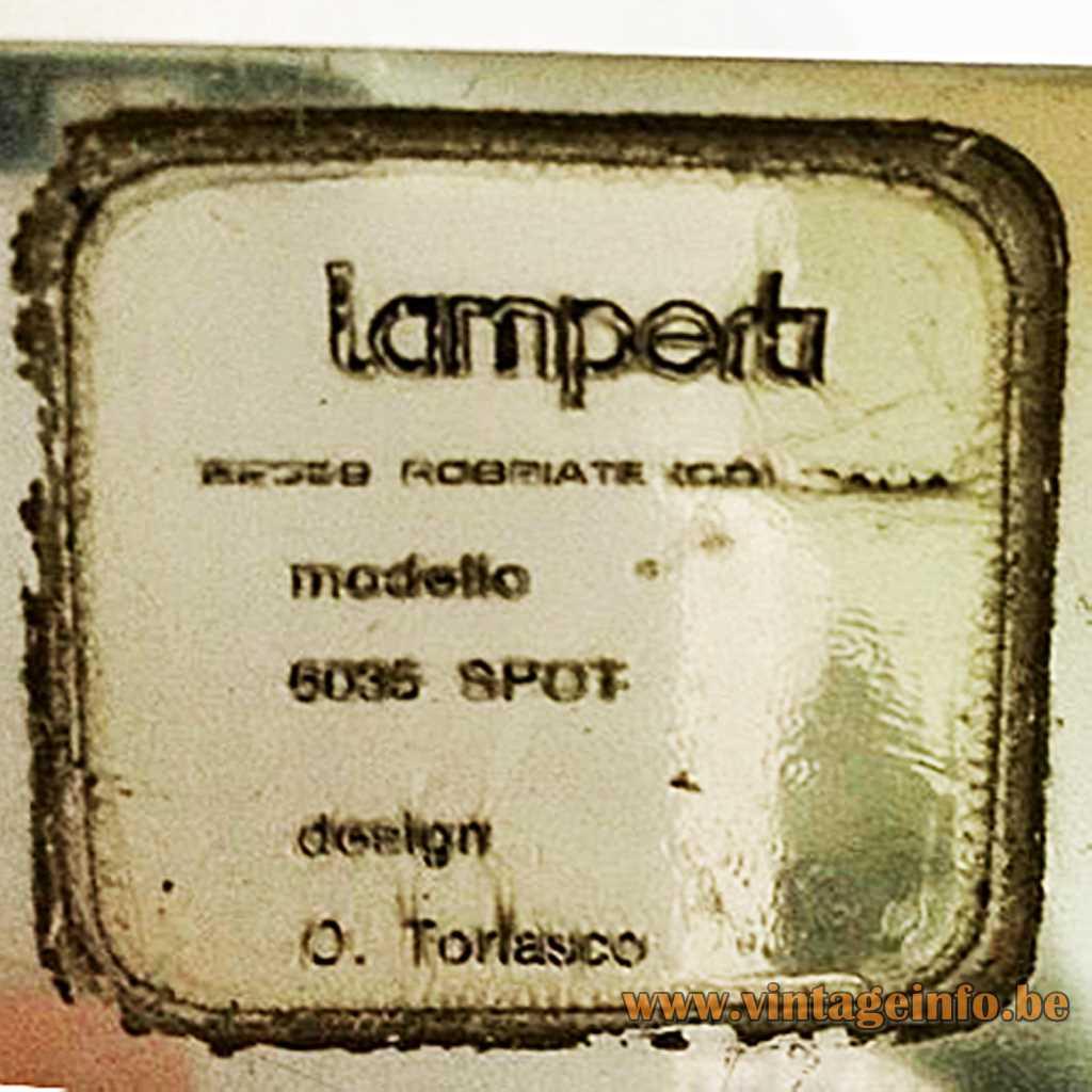 Lamperti - Oscar Torlasco label