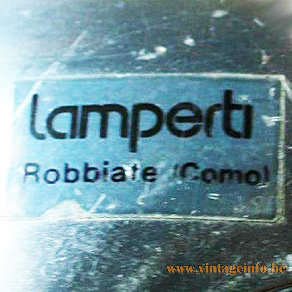 Lamperti Robbiate Como label